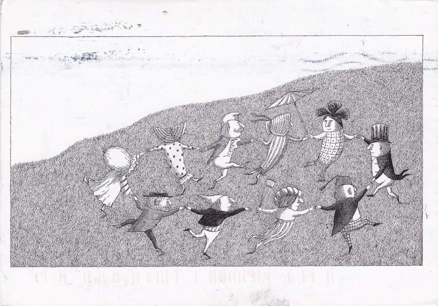 Эдвард Гори и его черно-белый мир (Edward St. John Gorey) 19