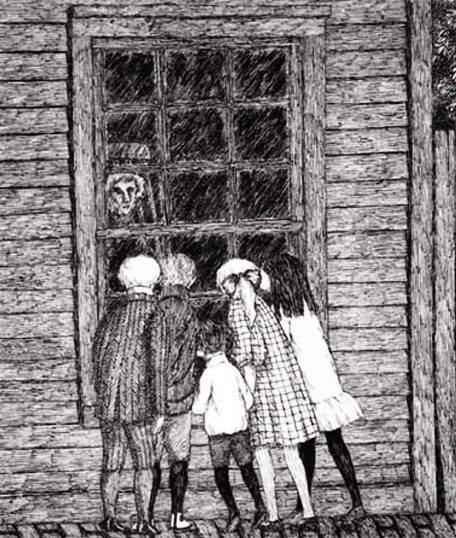 Эдвард Гори и его черно-белый мир (Edward St. John Gorey) 5