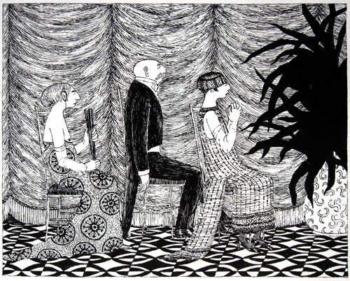 Эдвард Гори и его черно-белый мир (Edward St. John Gorey) 7