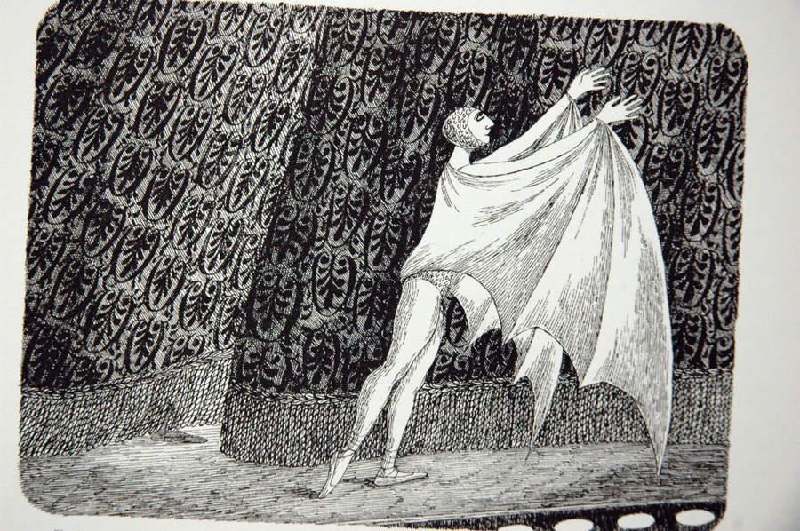 Эдвард Гори и его черно-белый мир (Edward St. John Gorey) 8
