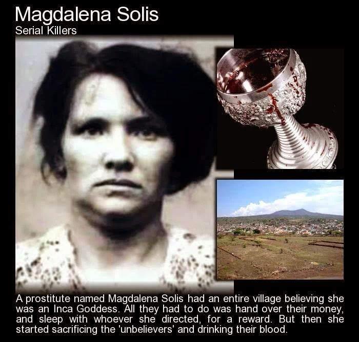 Женщины-убийцы всех времен Топ 10 Магдалена Солис (Magdalena Solis)