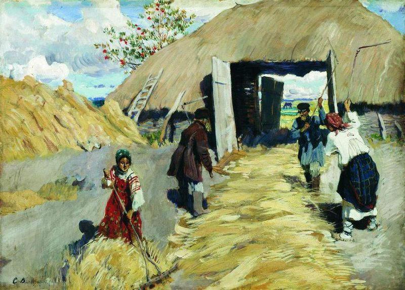 Российский художник 20 века Виноградов