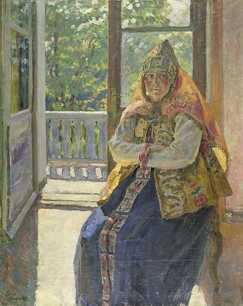 Живописец Сергей Виноградов