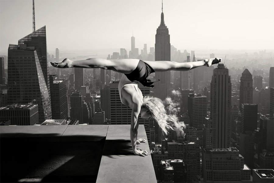 Танцы на вершине небоскреба