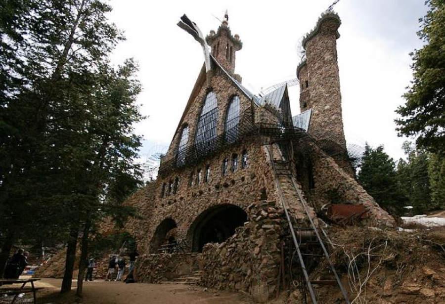 Замок Бишопа 10 самых невероятных строений, созданных одним человеком