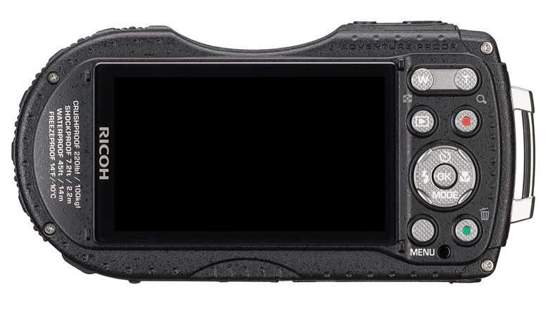 Защищенный фотоаппарат Ricoh WG-5 GPS 2