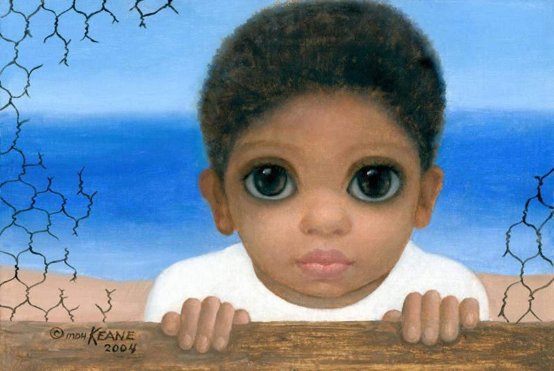 Большие глаза МаргаретКин (Margaret Keane) 10