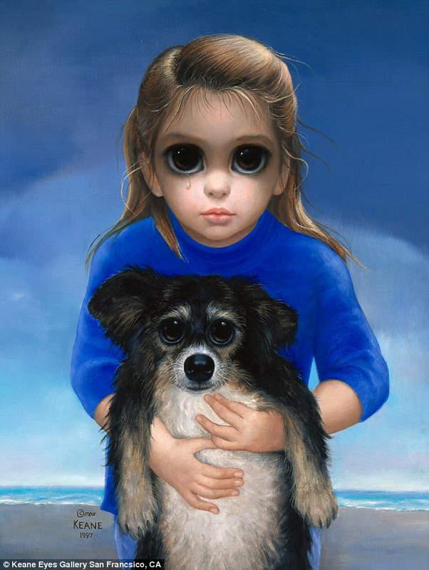 Большие глаза МаргаретКин (Margaret Keane) 11