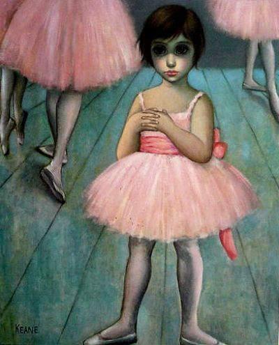 Большие глаза МаргаретКин (Margaret Keane) 12