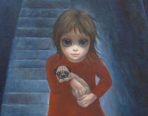 Большие глаза МаргаретКин (Margaret Keane) 13
