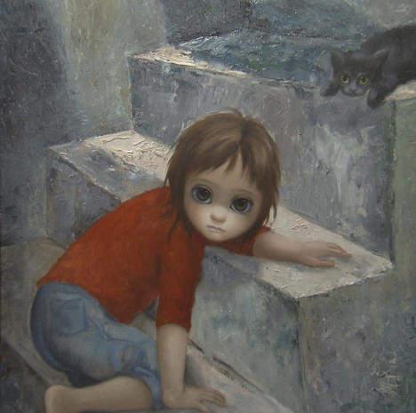 Большие глаза МаргаретКин (Margaret Keane) 14