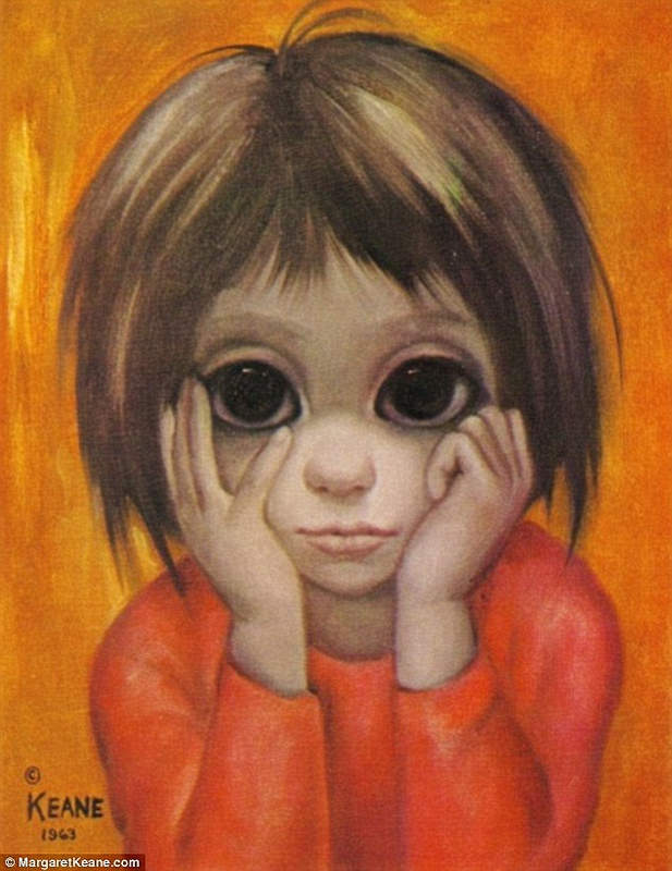 Большие глаза МаргаретКин (Margaret Keane) 16
