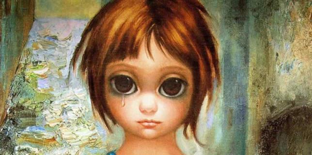 Большие глаза МаргаретКин (Margaret Keane) 17