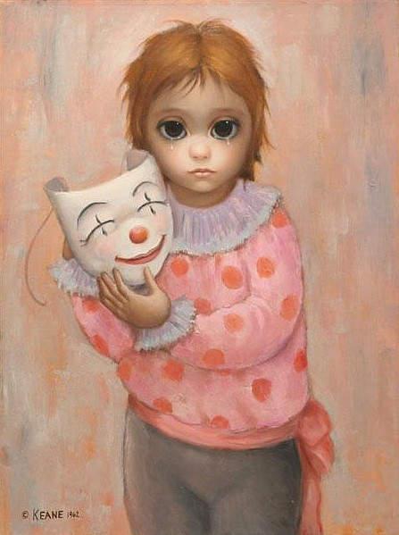 Большие глаза МаргаретКин (Margaret Keane) 19