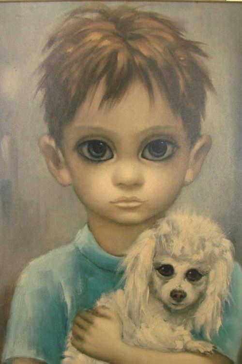 Большие глаза МаргаретКин (Margaret Keane) 2
