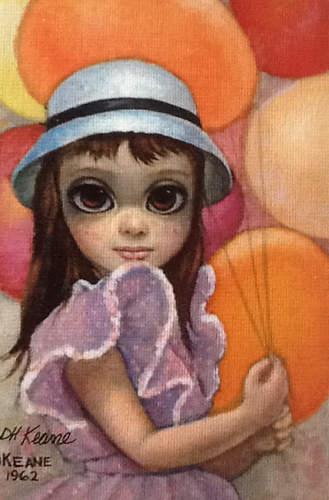 Большие глаза МаргаретКин (Margaret Keane) 20
