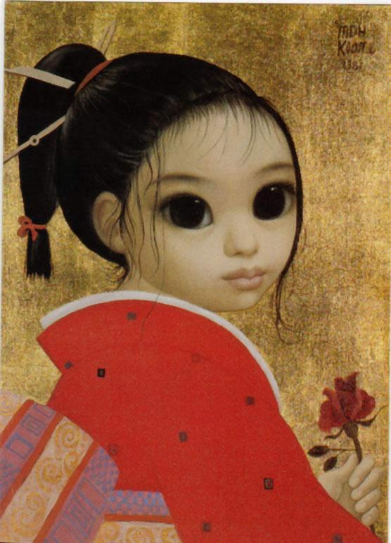 Большие глаза МаргаретКин (Margaret Keane) 22