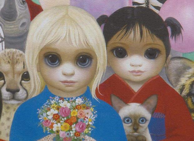 Большие глаза МаргаретКин (Margaret Keane) 3