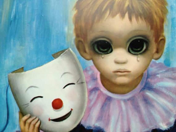 Большие глаза МаргаретКин (Margaret Keane) 4