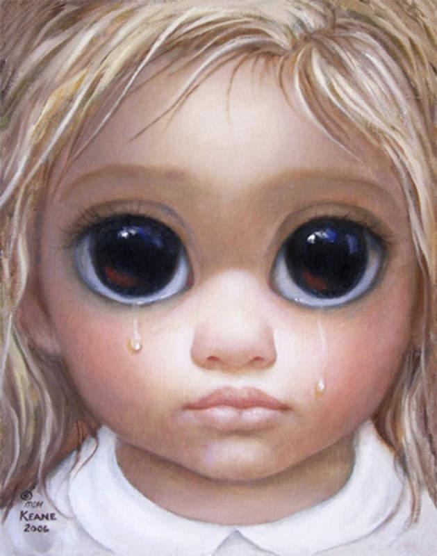 Большие глаза МаргаретКин (Margaret Keane) 6