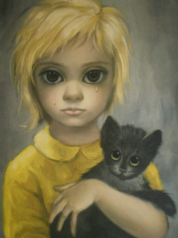Большие глаза МаргаретКин (Margaret Keane)