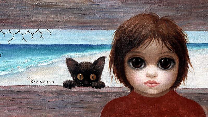 Большие глаза МаргаретКин (Margaret Keane) 8
