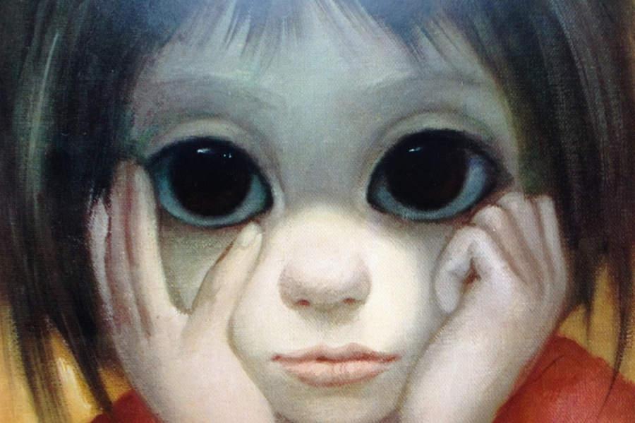 Большие глаза МаргаретКин (Margaret Keane) 9