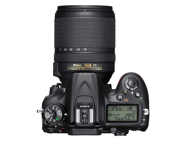 Фотоаппарат для энтузиастов Nikon D7200 4