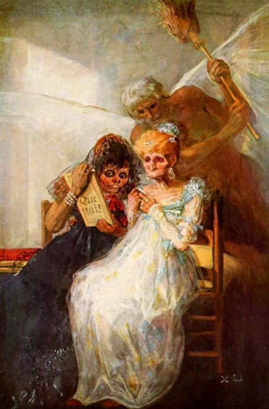 Франсиско Гойя (Francisco Goya) - величайший испанский живописец 10