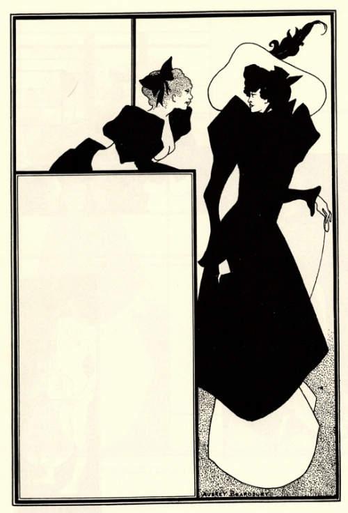 Обри Бёрдслей (Aubrey Beardsley) и графика модернизма 15