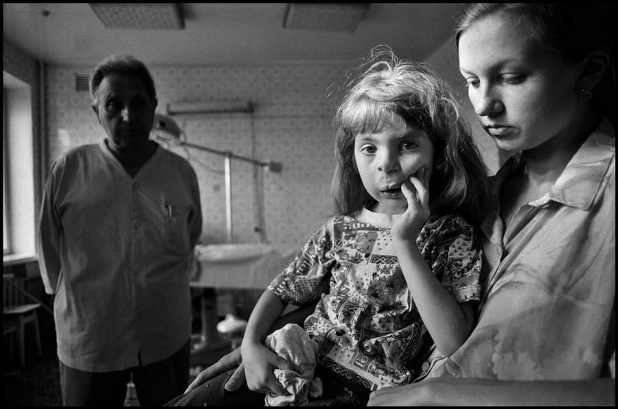 «Последствия радиации на Чернобыле, 1997-2000» Пола Фуско (Paul Fusco) 16