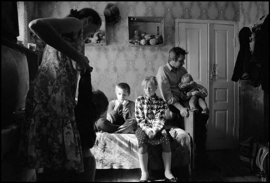 «Последствия радиации на Чернобыле, 1997-2000» Пола Фуско (Paul Fusco)