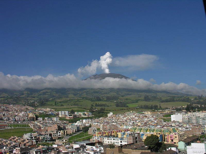 Самые активные вулканы в мире Галерас