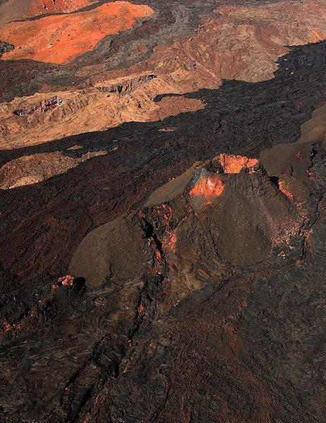 Самые активные вулканы в мире Мауна-Лоа