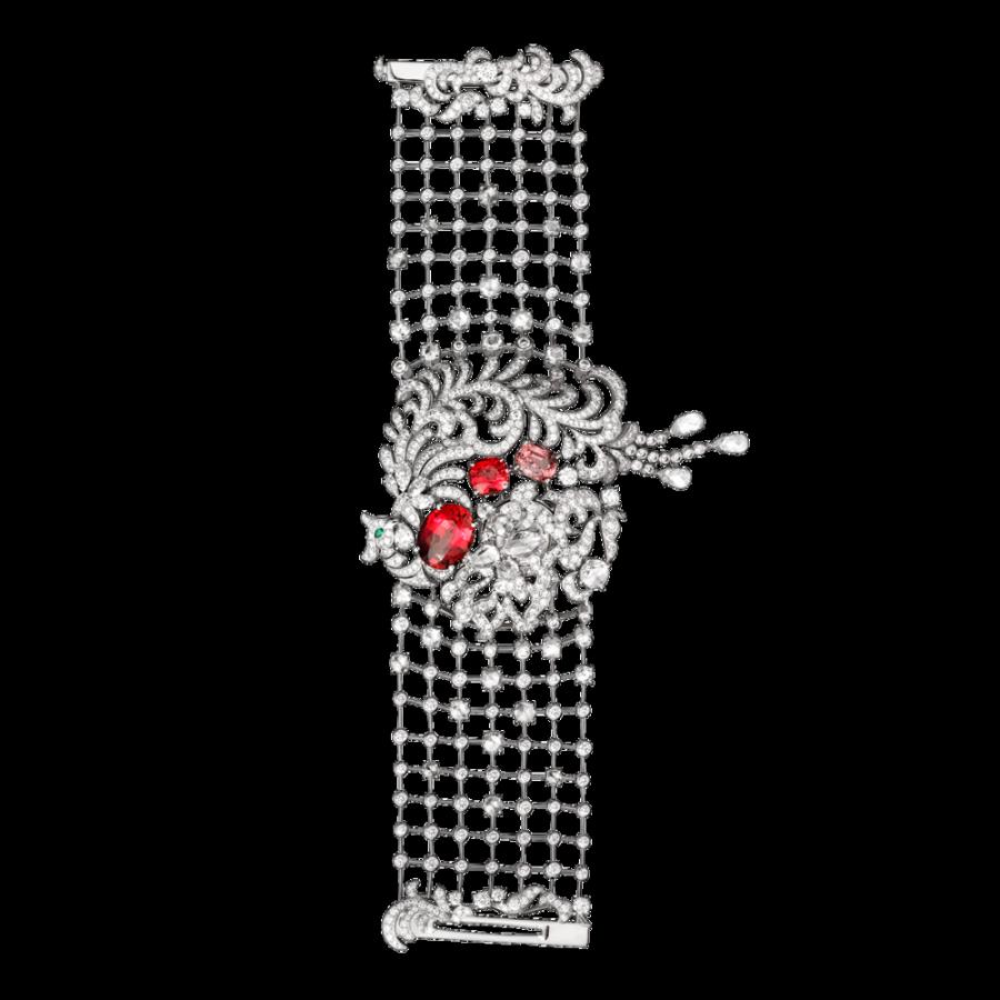 Самые роскошные часы 2014 года Топ-10 Cartier Secret Watch With Phoenix Décor
