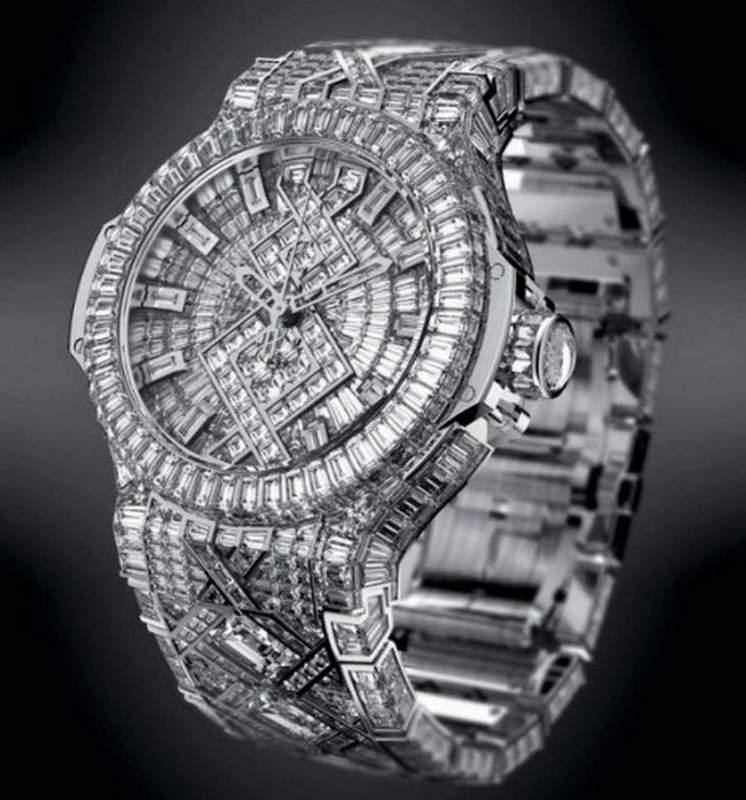 Самые роскошные часы 2014 года Топ-10 Hublot Diamond Watch