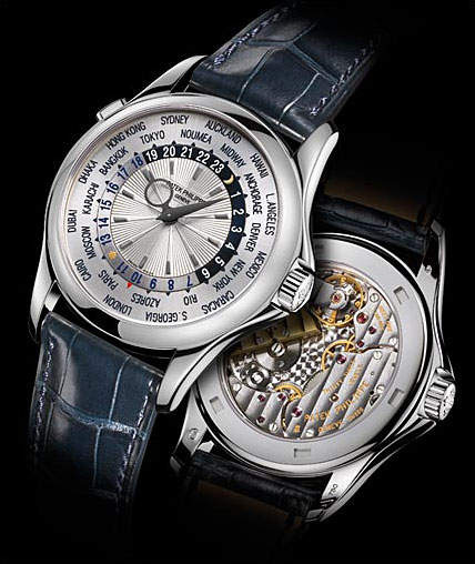 Самые роскошные часы 2014 года Топ-10 Patek Philippe Platinum World Time