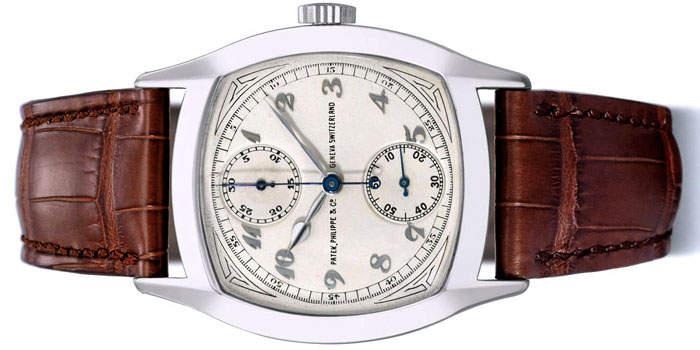 Самые роскошные часы 2014 года Топ-10 Patek Philippe Single Button Chronograph Watch