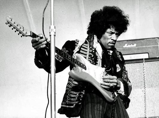 Топ-10 «Клуба 27» Джими Хендрикс (Jimi Hendrix)