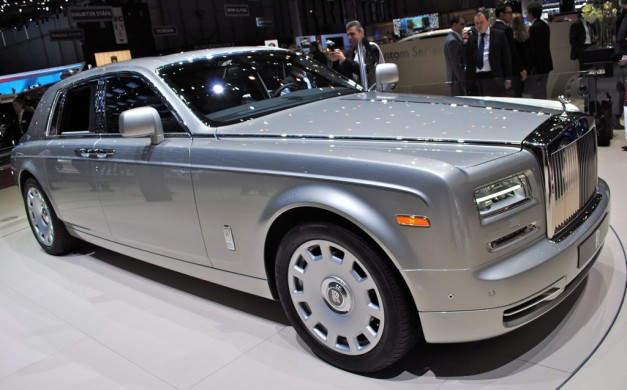 Топ-10 самых роскошных автомобилей 2015 года Rolls Royce