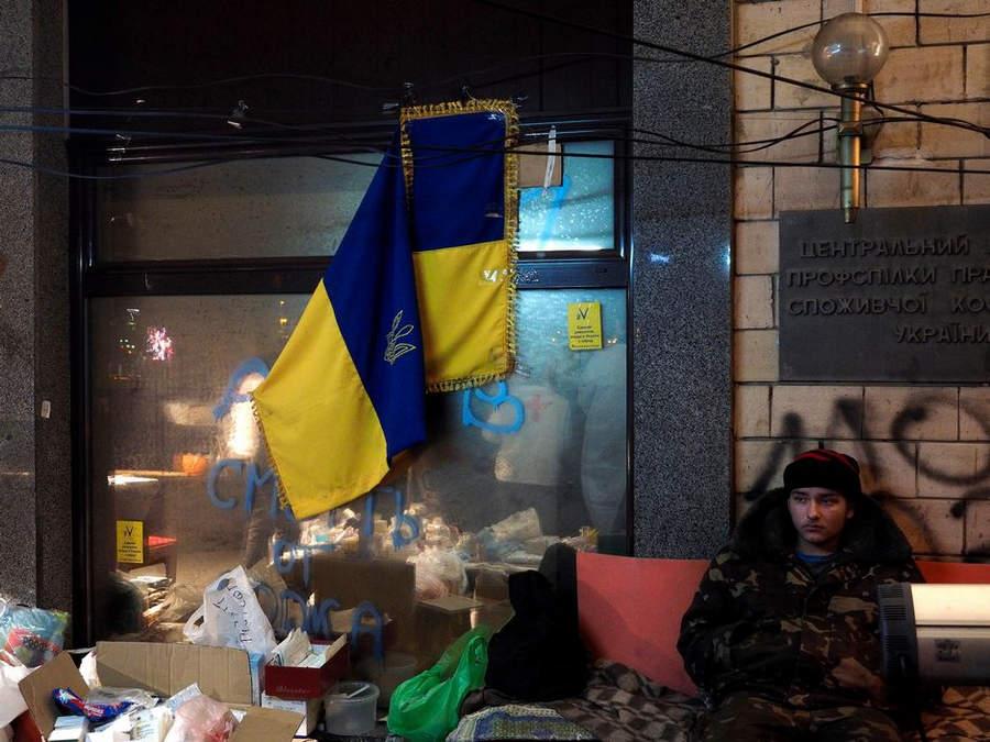 Украинская революция глазами Жерома Сессини (Jerome Sessini) 10
