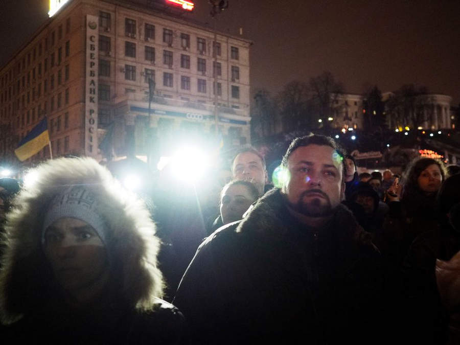 Украинская революция глазами Жерома Сессини (Jerome Sessini) 11