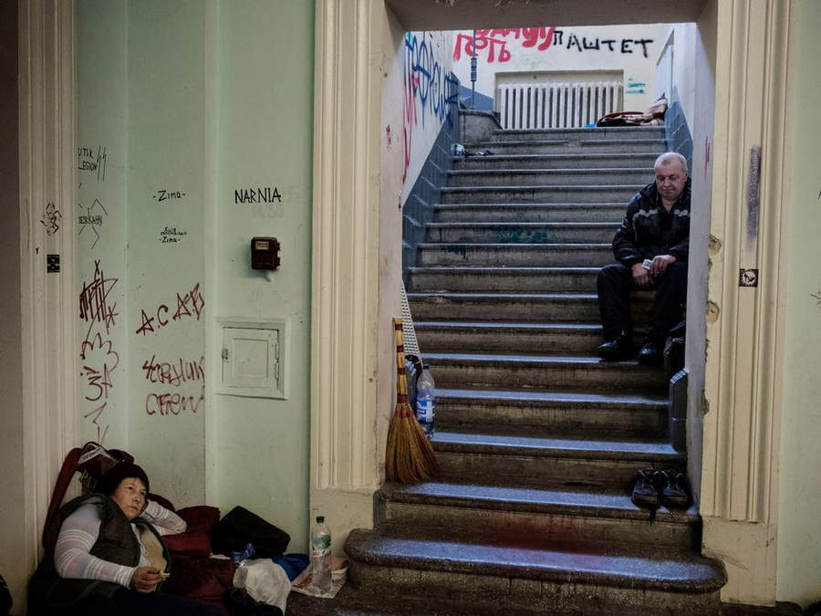 Украинская революция глазами Жерома Сессини (Jerome Sessini) 17