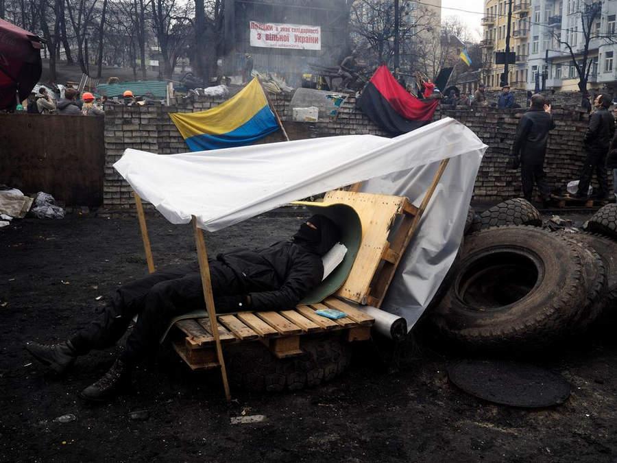 Украинская революция глазами Жерома Сессини (Jerome Sessini) 21