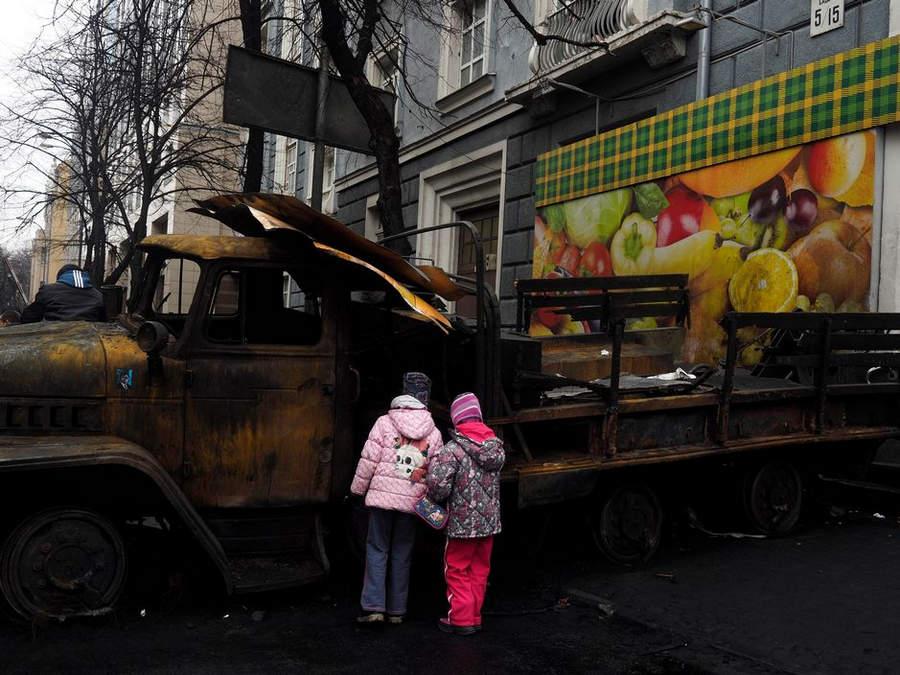 Украинская революция глазами Жерома Сессини (Jerome Sessini) 22