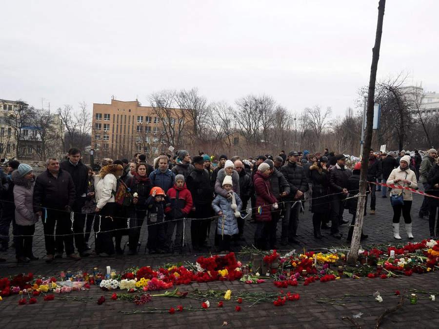 Украинская революция глазами Жерома Сессини (Jerome Sessini) 23
