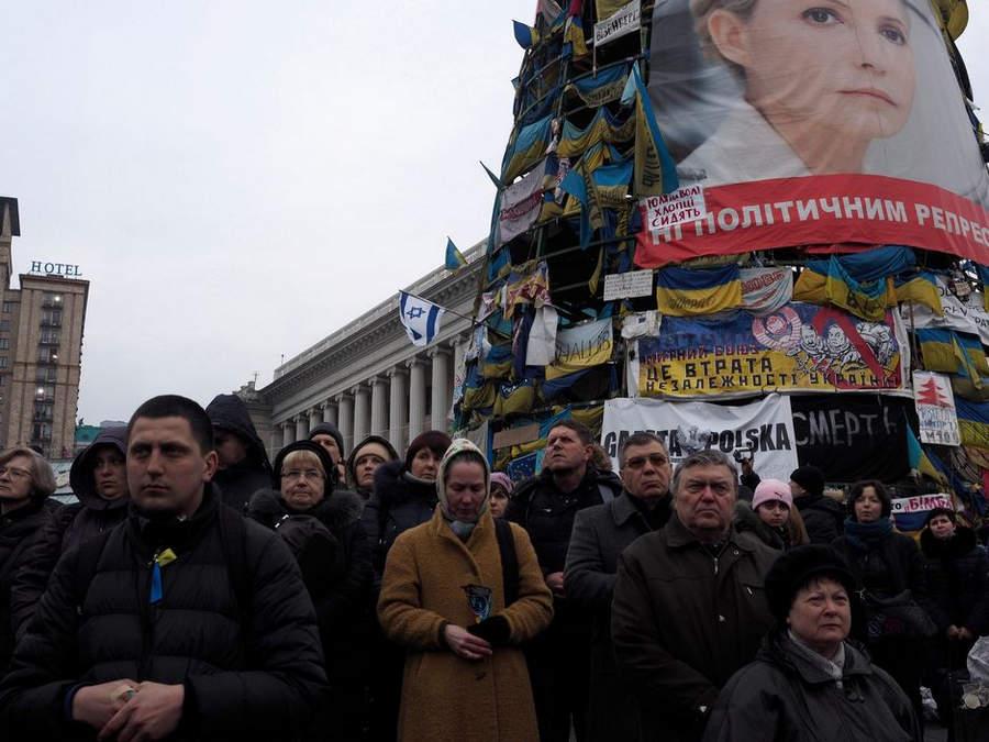 Украинская революция глазами Жерома Сессини (Jerome Sessini) 24