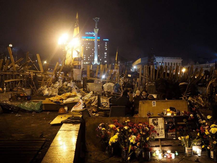 Украинская революция глазами Жерома Сессини (Jerome Sessini) 25