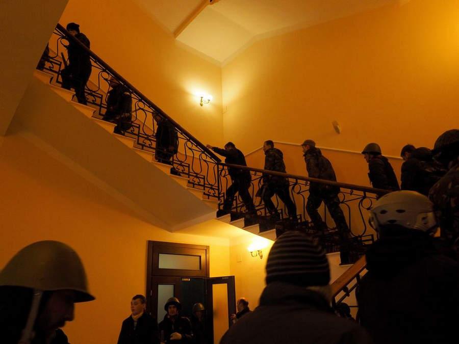 Украинская революция глазами Жерома Сессини (Jerome Sessini) 27