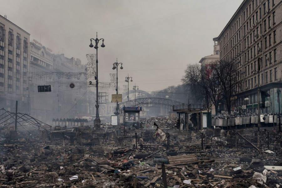 Украинская революция глазами Жерома Сессини (Jerome Sessini) 29